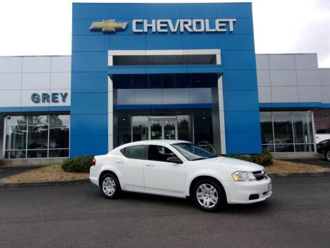 2012 Dodge Avenger for sale at Grey Chevrolet, Inc. in Port Orchard WA