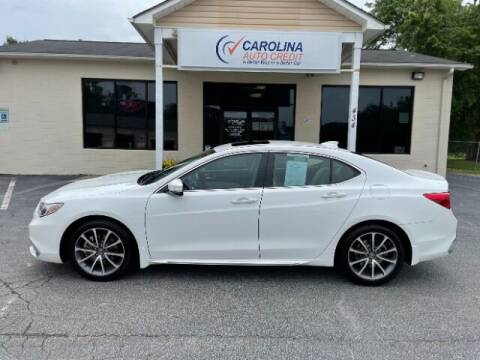 2018 Acura TLX for sale at Carolina Auto Credit in Youngsville NC