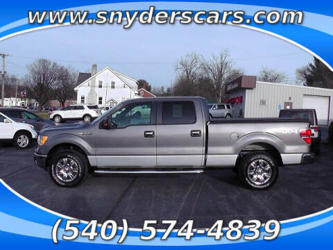 2012 Ford F-150 for sale at Snyders Auto Sales in Harrisonburg VA