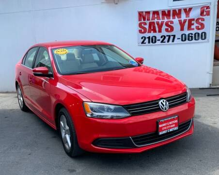 2014 Volkswagen Jetta for sale at Manny G Motors in San Antonio TX