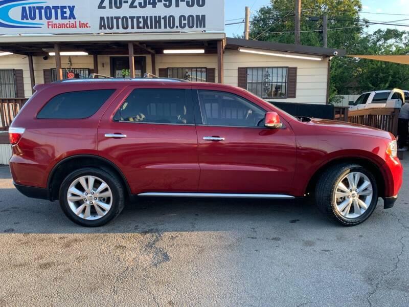 2013 Dodge Durango for sale at AUTOTEX IH10 in San Antonio TX