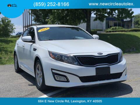 2014 Kia Optima for sale at New Circle Auto Sales LLC in Lexington KY