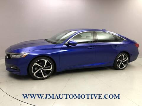 2019 Honda Accord for sale at J & M Automotive in Naugatuck CT