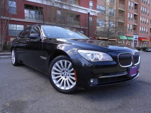 2012 BMW 7 Series for sale at H & R Auto in Arlington VA