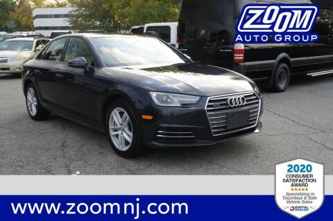 2017 Audi A4 for sale at Zoom Auto Group in Parsippany NJ