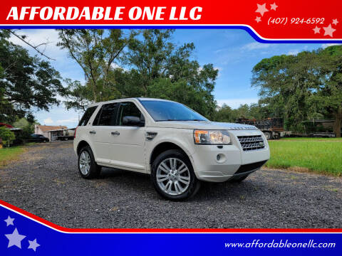 2010 Land Rover LR2 for sale at AFFORDABLE ONE LLC in Orlando FL