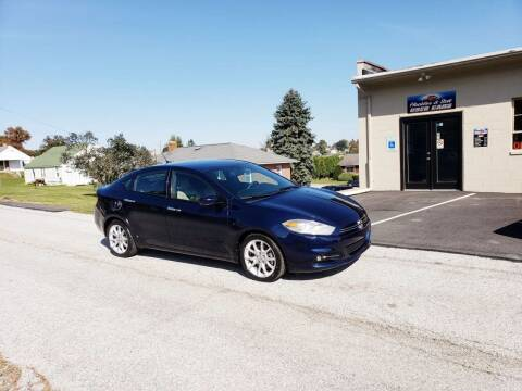 2013 Dodge Dart for sale at Hackler & Son Used Cars in Red Lion PA