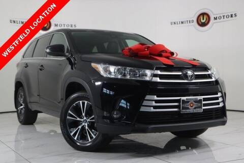 2018 Toyota Highlander for sale at INDY'S UNLIMITED MOTORS - UNLIMITED MOTORS in Westfield IN