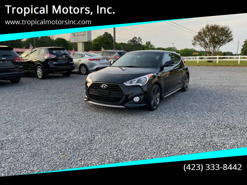 2015 Hyundai Veloster for sale at Tropical Motors, Inc. in Riceville TN