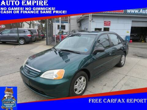 2002 Honda Civic for sale at Auto Empire in Brooklyn NY