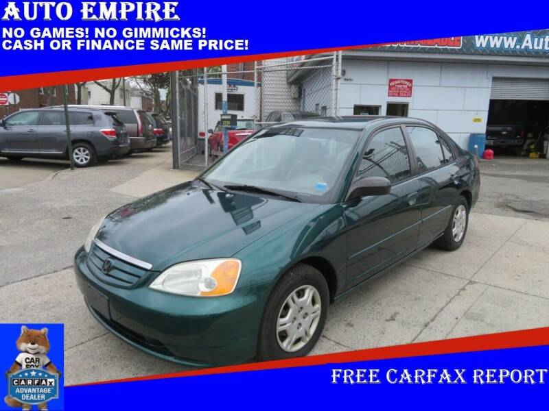 2002 Honda Civic for sale at Auto Empire in Brooklyn NY