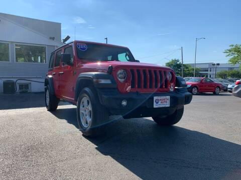 2019 Jeep Wrangler Unlimited for sale at 355 North Auto in Lombard IL