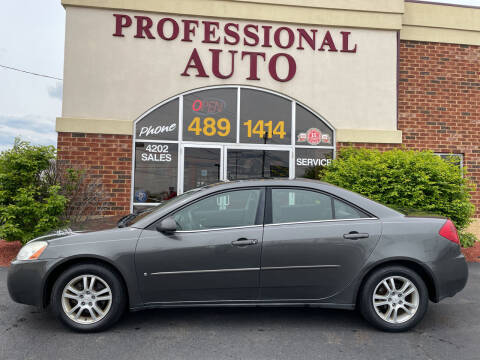2006 Pontiac G6 for sale at Professional Auto Sales & Service in Fort Wayne IN