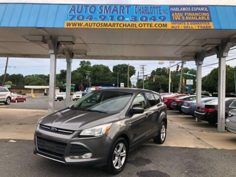 2014 Ford Escape for sale at Auto Smart Charlotte in Charlotte NC
