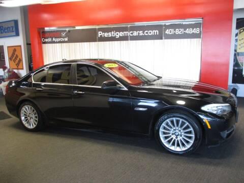 2013 BMW 5 Series for sale at Prestige Motorcars in Warwick RI