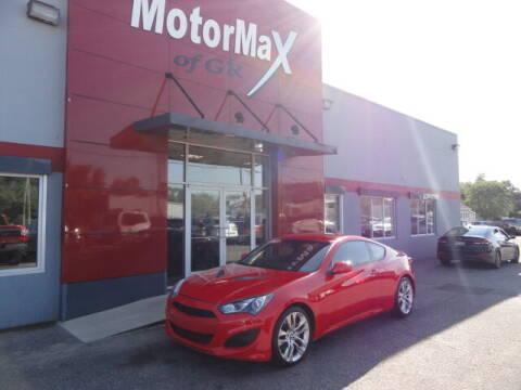 2013 Hyundai Genesis Coupe for sale at MotorMax of GR in Grandville MI