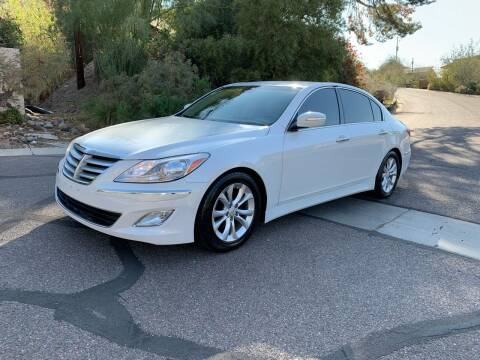 2013 Hyundai Genesis for sale at BUY RIGHT AUTO SALES in Phoenix AZ