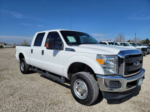 2015 Ford F-250 Super Duty for sale at BERKENKOTTER MOTORS in Brighton CO