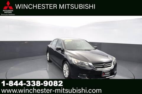 2015 Honda Accord for sale at Winchester Mitsubishi in Winchester VA