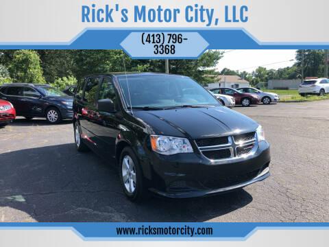 2013 Dodge Grand Caravan for sale at Rick's Motor City, LLC in Springfield MA