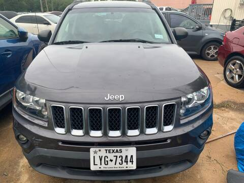 2016 Jeep Compass for sale at 1st Stop Auto in Houston TX