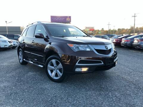 2010 Acura MDX for sale at Mass Motors LLC in Worcester MA