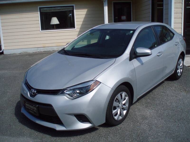 2016 Toyota Corolla for sale at Worthington Motor Co, Inc in Clinton TN