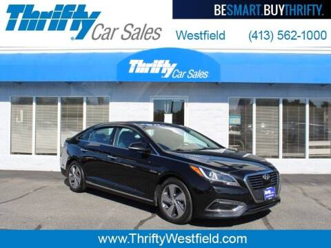 2017 Hyundai Sonata Hybrid for sale at Thrifty Car Sales Westfield in Westfield MA