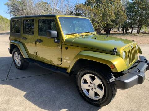 2007 Jeep Wrangler Unlimited for sale at TROPHY MOTORS in New Braunfels TX