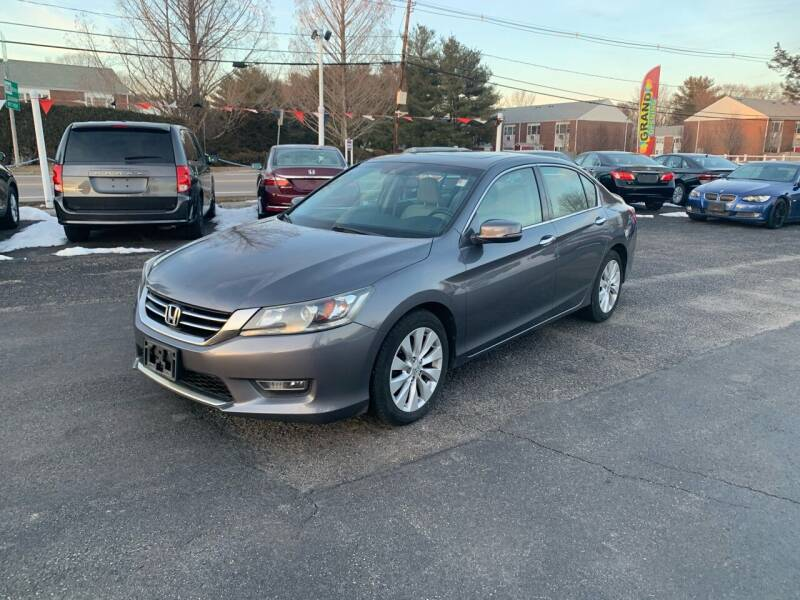 2013 Honda Accord for sale at Lux Car Sales in South Easton MA
