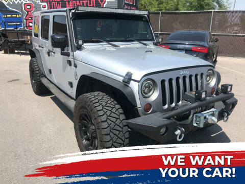 2007 Jeep Wrangler Unlimited for sale at Rock Star Auto Sales in Las Vegas NV