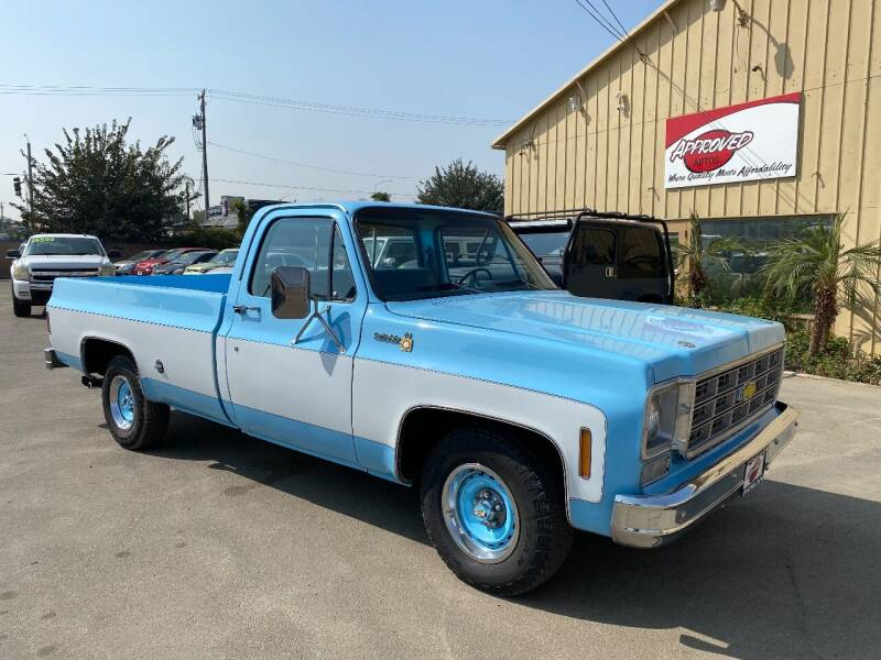 1977 Chevrolet C/K 10 Series for sale at Approved Autos in Bakersfield CA