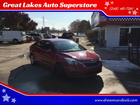 2014 Dodge Dart for sale at Great Lakes Auto Superstore in Waterford Township MI