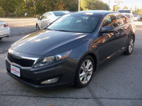 2011 Kia Optima for sale at Charlies Auto Village in Pelham NH