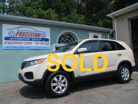 2011 Kia Sorento for sale at Precision Automotive Group in Youngstown OH