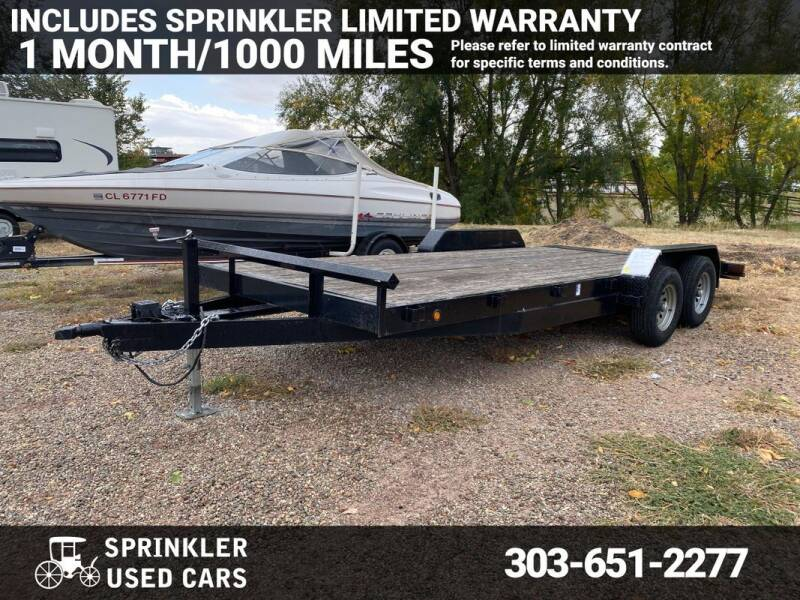 2018 Texoma Trailers n/a for sale at Sprinkler Used Cars in Longmont CO