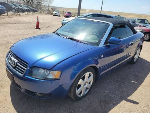 2004 Audi A4 for sale at PYRAMID MOTORS - Pueblo Lot in Pueblo CO