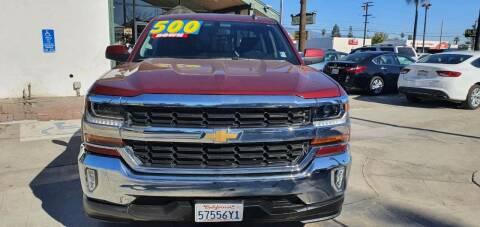 2016 Chevrolet Silverado 1500 for sale at Auto Land in Ontario CA