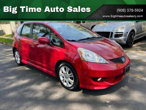 2009 Honda Fit for sale at Big Time Auto Sales in Vauxhall NJ