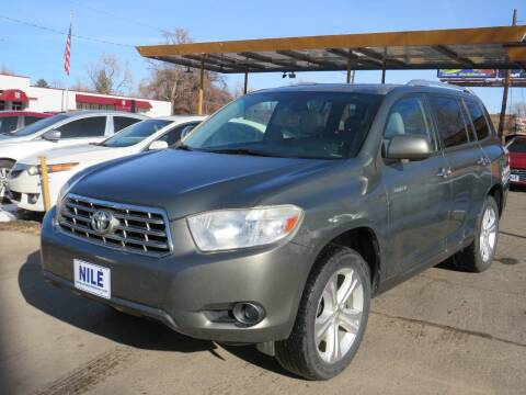 2010 Toyota Highlander for sale at Nile Auto Sales in Denver CO