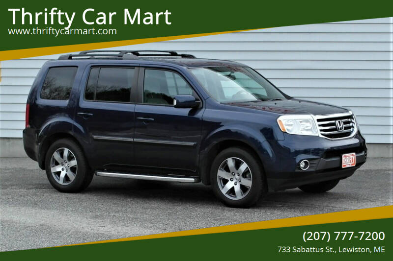 2014 Honda Pilot for sale at Thrifty Car Mart in Lewiston ME