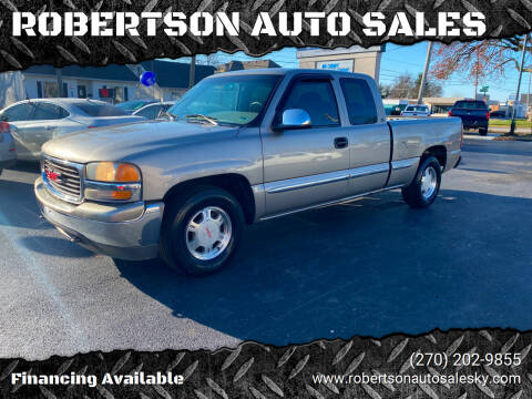 2000 GMC Sierra 1500 for sale at ROBERTSON AUTO SALES in Bowling Green KY