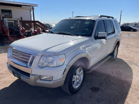 2010 Ford Explorer for sale at PYRAMID MOTORS - Fountain Lot in Fountain CO