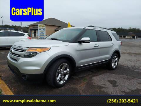 2013 Ford Explorer for sale at CarsPlus in Scottsboro AL