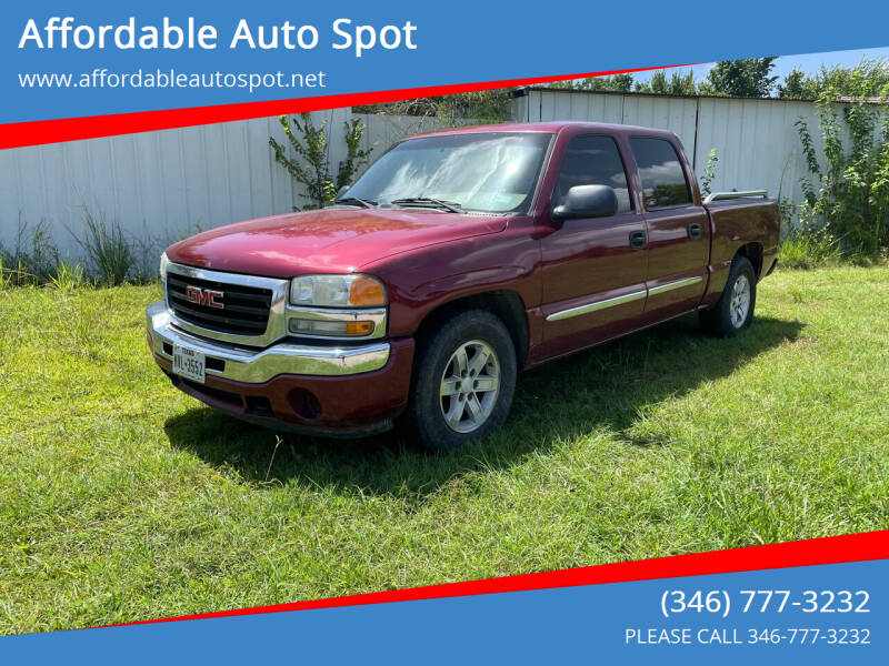 2007 GMC Sierra 1500 Classic for sale at Affordable Auto Spot in Houston TX