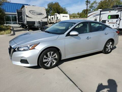 2019 Nissan Altima for sale at Kell Auto Sales, Inc - Grace Street in Wichita Falls TX