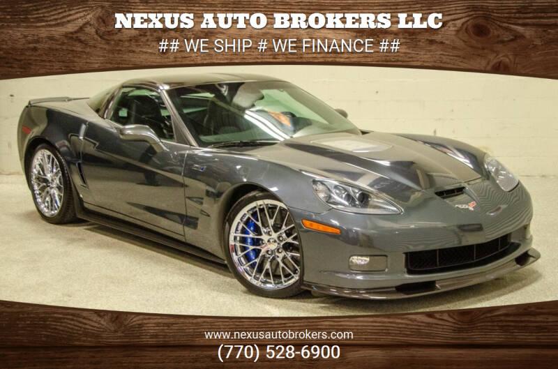2009 Chevrolet Corvette for sale at Nexus Auto Brokers LLC in Marietta GA