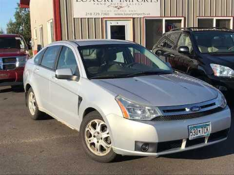 2008 Ford Focus for sale at LUXURY IMPORTS in Hermantown MN