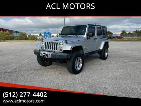 2008 Jeep Wrangler Unlimited for sale at ACL MOTORS in Austin TX