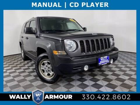 2016 Jeep Patriot for sale at Wally Armour Chrysler Dodge Jeep Ram in Alliance OH